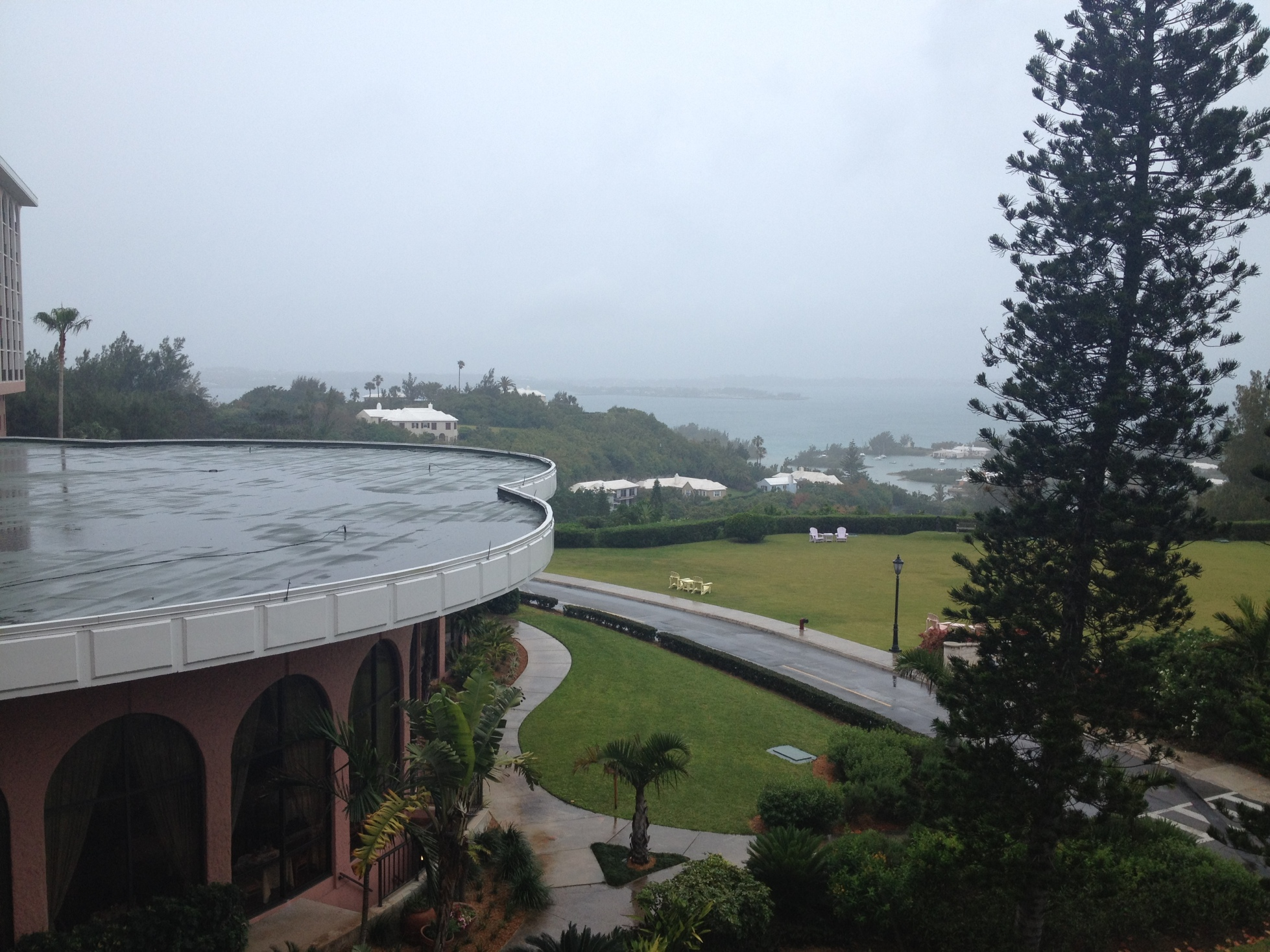 A Rainy Bermuda Day